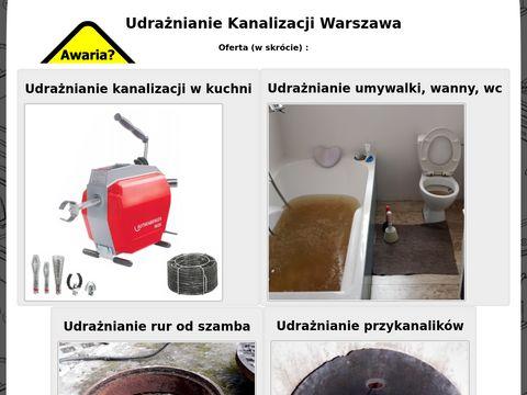 Udraznianiekanalizacji.eu Warszawa