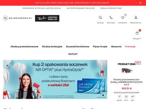 Rajsoczewek.pl sklep
