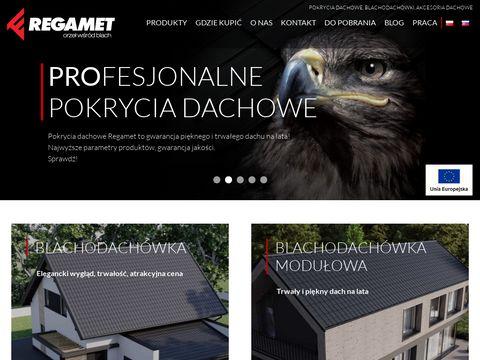 Regamet.com.pl rynny PCV i metalowe