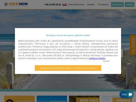 Sunandsnow.pl wynajem pokoi