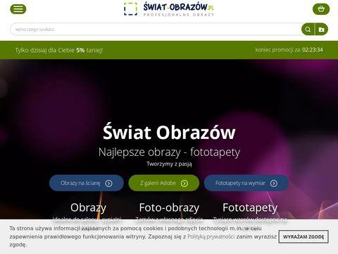 Swiat-obrazow.pl obrazy na płótnie