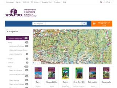 Sygnatura.com.pl Beskidy mapa