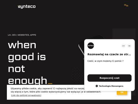 Synteco.pl strony internetowe Szczecin