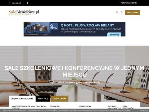 SaleBiznesowe.pl konferencyjne