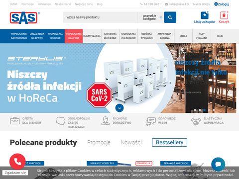 Sas24.pl wyposażenie gastronomii