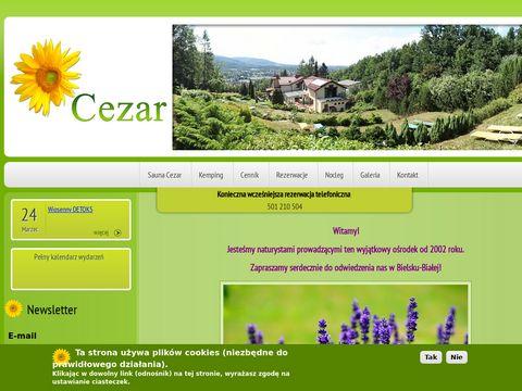 Sauna-cezar.pl naturyści