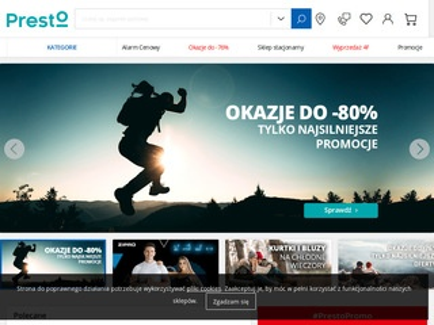 Sklep-presto.pl buty sportowe