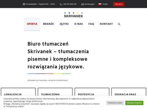 Skrivanek.pl tłumaczenia