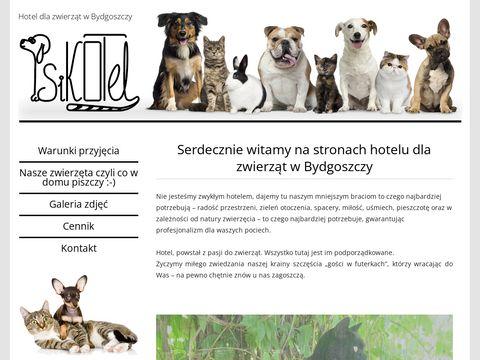 Psikotel.bydgoszcz.pl hotel dla zwierząt