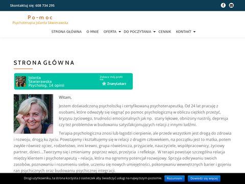 Psychoterapiakrakow.com - Jolanta Skwierawska