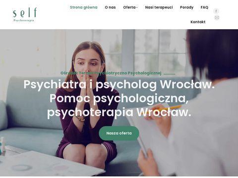 Psycholog-wroclaw.com ośrodek Self