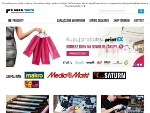 Printex.pl szeroki wybór tuszy do drukarek