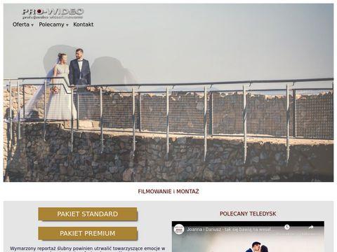 Pro-wideo.pl Kamerzysta Nowy Sącz