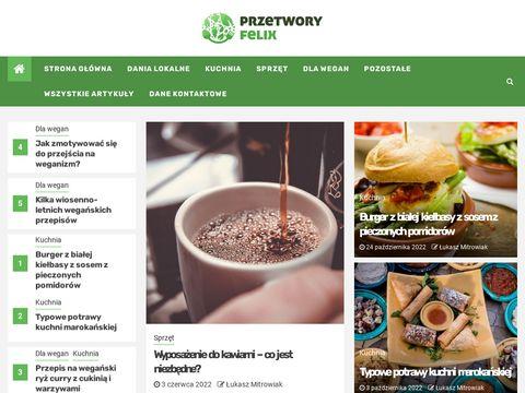 Feliks – przetwórstwo warzyw, sałatki warzywne