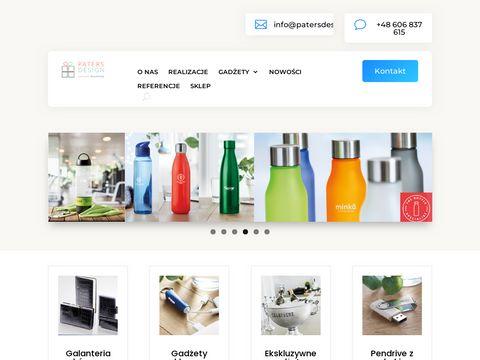 Paters Design gadżety reklamowe z logo