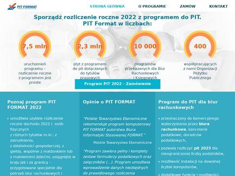 Pit-biuro.pl program dla księgowych