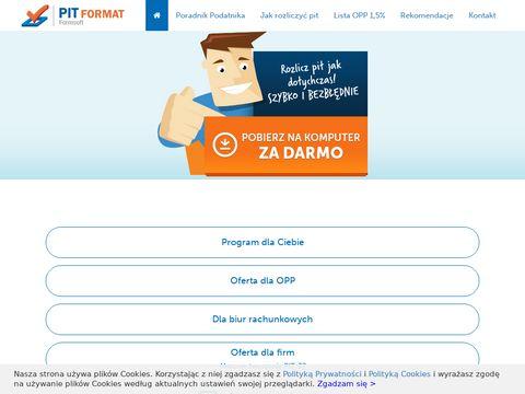 Pit-format.pl darmowy program 2019