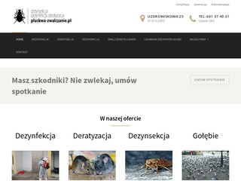 Pluskwa-zwalczanie.pl dezynfekcja po zgonie
