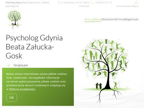 Pomocwlabiryncie.pl psychoterapeuta Gdynia