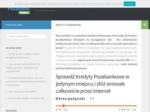 Pozabanki.com.pl blog o pożyczkach pozabankowych