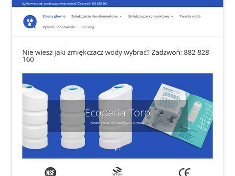 Zmiekczacze.com nowoczesne zmiękczacze wody