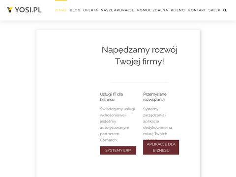Yosi.pl usługi dla IT
