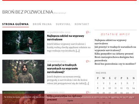 Firma-sacrum.pl zakład pogrzebowy