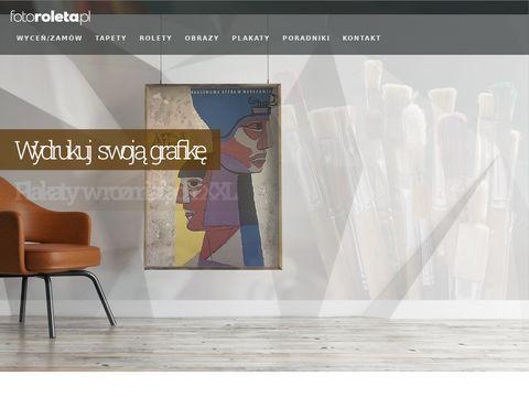 Fotoroleta.pl - Openmindstudio rolety reklamowe
