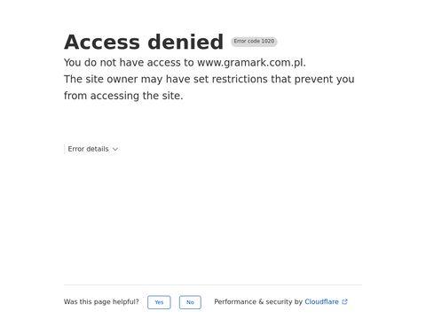 Gramark.com.pl skarpety dziecięce