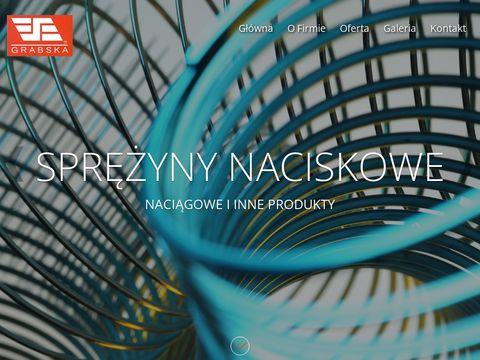 Grabska.net produkcja i sprzedaż sprężyn Poznań