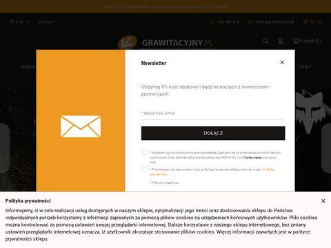Grawitacyjny.pl sklep rowerowy