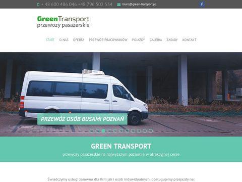 F.H.U. Green przewozy pasażerskie, wynajem