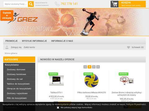Grez.pl kosz do koszykówki