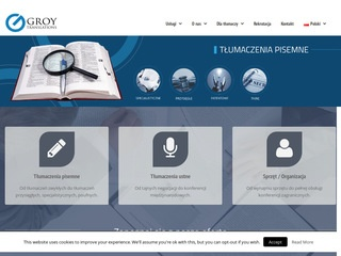 Groy.pl - biuro tłumaczeń