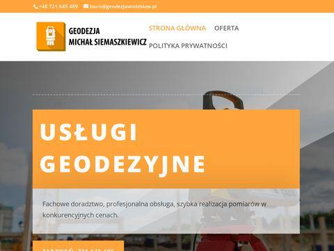 Geodezjawodzislaw.pl geodeta w Wodzisławiu