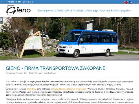Busy Zakopane-Spływ Dunajcem, Morskie Oko