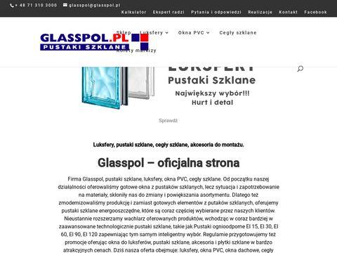 Glasspol.pl szkło luksfery fusing