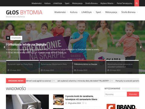 Glosbytomia.pl portal regionalny