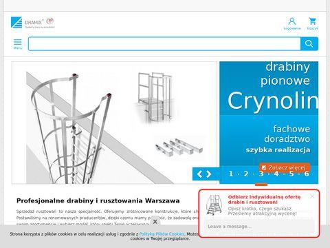 Dramix - rusztowania aluminiowe