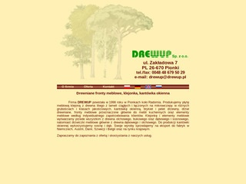 Drewup - fronty meblowe