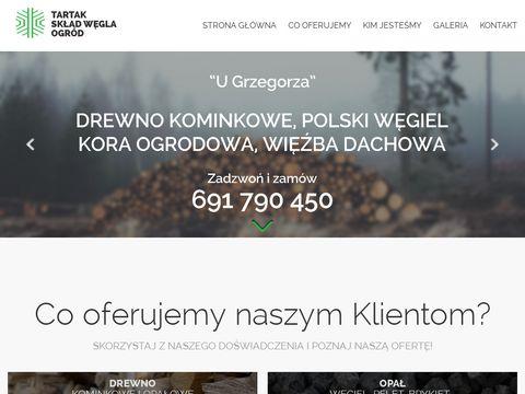Drewnokominkowe.wroclaw.pl U Grzegorza