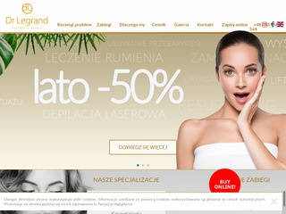Drlegrand.pl dermatology clinic