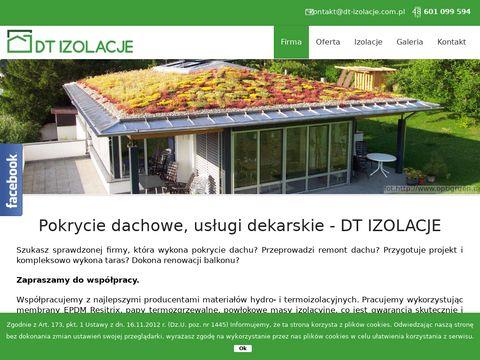 Dt-izolacje.com.pl - pokrycie dachowe