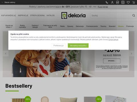 Dekoria.pl aranżacja wnętrz