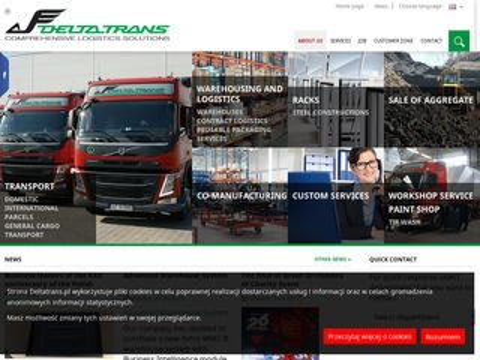 Delta Trans - pojemniki transportowe