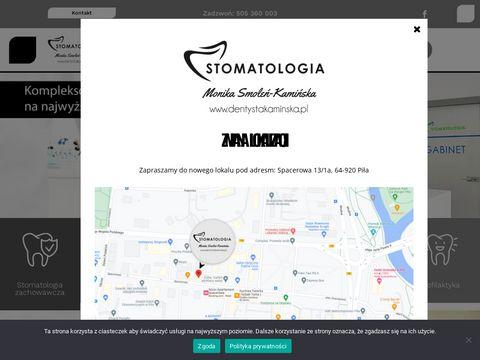Ddentystakaminska.pl Piła