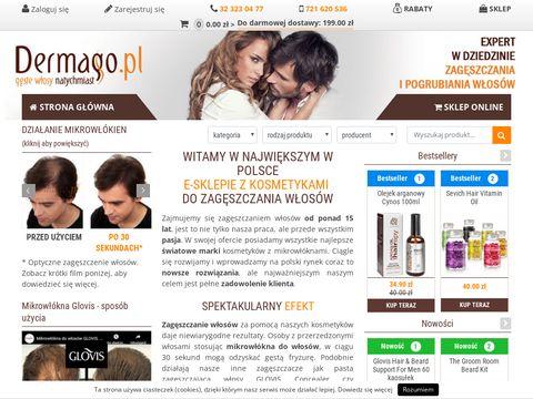 Dermago.pl kosmetyki do zagęszczania włosów