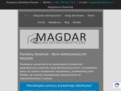 Magdar usługi detektywistyczne w Poznaniu