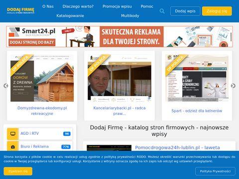 Dodaj-firme.com.pl promocja firm