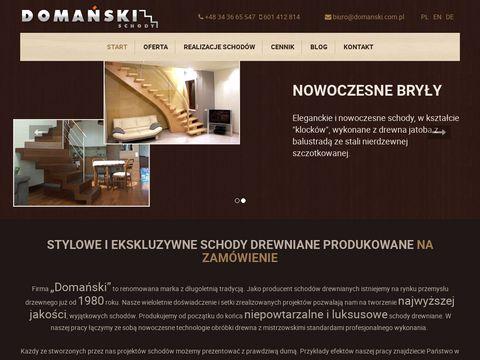 Domanski.com.pl schody